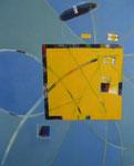 innerlijke ruimte - acryl op doek, 80 x 100