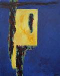 portaal van licht - acryl op doek, 80 x 100