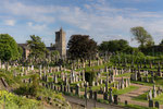 der Friedhof von Stirling Castle