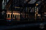 Warten auf den Nachtzug nach Basel ...