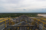 Ausblick vom höchsten Punkt aus über die F60