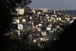 Blick über die Stadt Richtung Croix Rousse