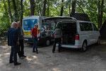 """Startklar vor dem Hotel """"zum Postkutscher"""" in Cottbus"""