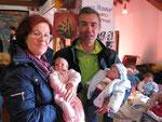 IRENE (con la mia Denise) e GIANCARLO (con il piccolo di IRENE!)
