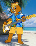 """Teddy bassista"" by Maury"