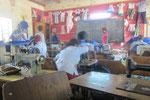 In der Schneiderei (1. Lehrjahr)