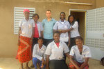 Teilnehmerinnen an Nicolais Computerkurs (angehende Elektronikerinnen)