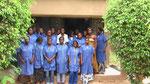 Im CFIAM Ouagadougou: die angehenden Schneiderinnen mit ihrer Ausbilderin Fatou Zoundi (2.v.r.)