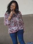 Sängerin Rovane, Ehrengast der Abschlussfeier (Januar 2013)