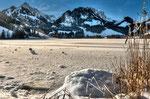 Nr.27 Zugefrorener Schwarzsee