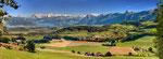 Nr. 5 Eiger Mönch und Jungfrau mit Thunersee