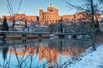 Bundeshaus bei Sonnenaufgang