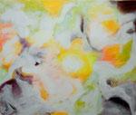 """Manchmal verstehe ich       80 x 100 cm   Acryl auf Leinwand    Aus der Serie """"Listen to my painting"""""""