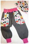 Jeans in Gr. 80