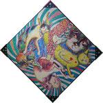 01 委員  大野 起生  猫の楽園 油 S100