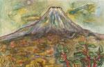 01 五十嵐実  富士を望む  (水) M40
