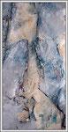Acrylique sur toile, détail