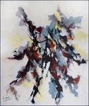 Acrylique sur toile, 60X73