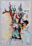 Acrylique sur toile, 50X70