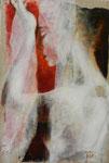 VEDNU tempéra sur monotypes marrouflés sur toile brute