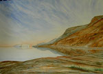 Dead Sea, watercolor, 30x40cm, 2008.