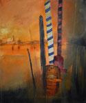 Venezianische Impression, 70 x 50 cm, Preis auf Anfrage