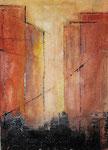 Stadtansicht II, 70 x 50 cm, Preis auf Anfrage