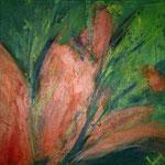Lilie, 40 x 40 cm, Preis auf Anfrage
