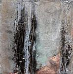 Im Winter, 40 x 40 cm,  Preis auf Anfrage