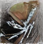 Fächer aufgeklappt, 40 cm x 40 cm,  Preis auf Anfrage