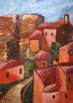 Saignon in der Provence, 70 x 50 cm, Preis auf Anfrage