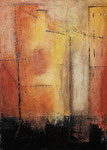 Stadtansicht I, 70 x 50 cm, Preis auf Anfrage