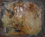 Erdspuren II, 50 x 60 cm,  Preis auf Anfrage