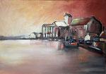 Am Hafen, 50 x 60 cm, Preis auf Anfrage