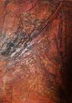 Spuren, 70 x 50 cm,  Preis auf Anfrage