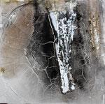 Im Felsen, 40 x 40 cm,  Preis auf Anfrage