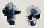 synchron, Bleistift & Aquarell, 18x20 cm, 2014
