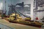 Modell Dampftrajekt II; erbaut von R.Fügen; Foto S.Stern