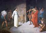 Ischia - Basilique Sainte-Restitude - Flagellation (F.Mastriani - fin XIXè)