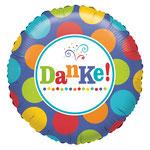 "Folienballon ""Danke"" 35cm  -  € 5,90"