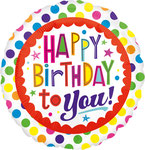 "Sing A Tune ""HB Polka Dots"" singt ""Happy Birthday to you""   - 70cm  € 19,90"