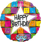 "Sing A Tune ""HB Star"" singt ""Happy Birthday to you""   - 70cm  € 19,90"