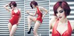 MODEL: Mery SP   MUAH: Alba de Soto   PHOTOGRAPHER ASSISTANT: Jose Ignacio Heras   DESIGNS: Pandora Deluxe Latex