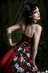 MODEL: DarkMoon MAKE UP & HAIR: Alba Hernández DESIGNS: Jacq the Rimmel