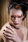 MODEL: DarkMoon MAKE UP & HAIR: Alba Hernández STYLIST: Jacq the Rimme