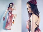 MODEL & MAKE UP: Rocío Ciarán  PHOTOGRAPHER ASSISTANT: Jose Ignacio Heras  DRESS: Penélope Almendros