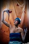 MODEL: Ana Plescan MAKE UP & STYLIST: Alba Hernández