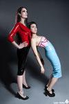 MODELS: DarkMoon & Maryah Marymotto MAKE UP & HAIR: Alba Hernández DESIGNS: Coco.Late