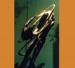 Abrazo. 120 x 100 x 40 cm.   metal   . 1997