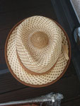 Der Hut ist glaube ich das Wahrzeichen vom Chef Herman van Vliet